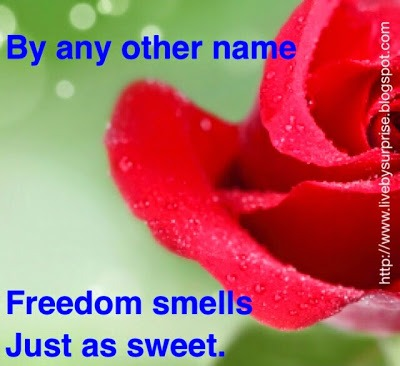 By Any Other Name: Freedom Smells Just as Sweet