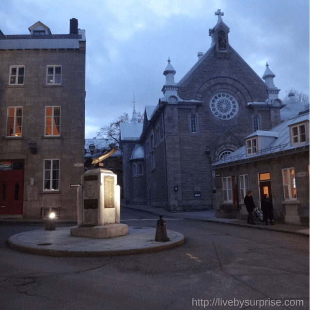 Quebec City Church