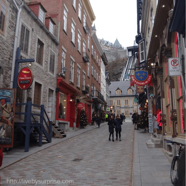 A Romantic Trip to Québec City