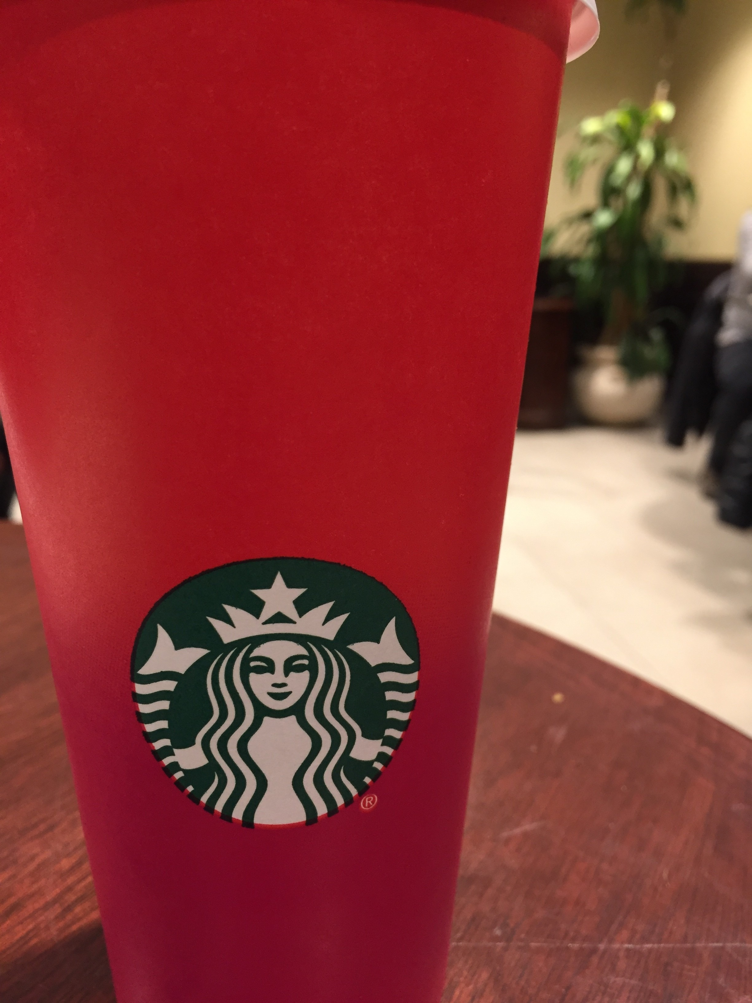 The Real Meaning of Starbucks #RedCups - #NaBloPoMo 1