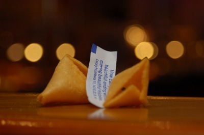 Chinese Fortunes and Being Aware of Your Fears...